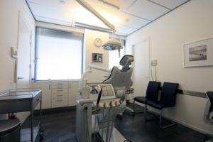 Overzichtsfoto van behandelkamer 2
