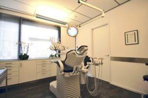 Patienten stoel behandelkamer 3